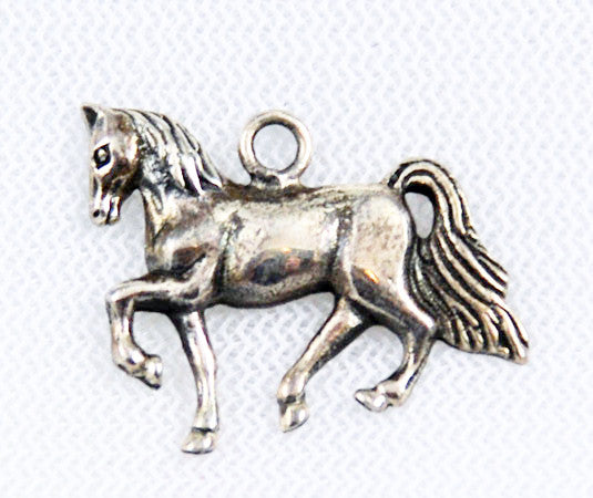 Sterling Silver Horse Charm Vintage