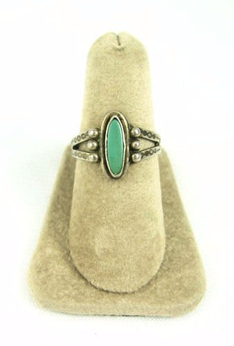 Turquoise Native American Sterling Ring
