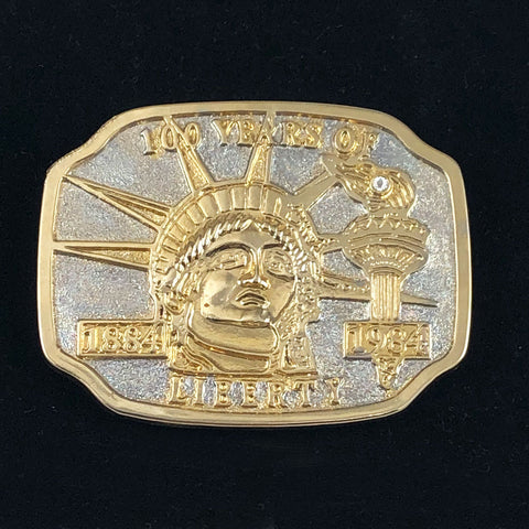 Statue of Liberty Belt Buckle