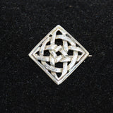 Sterling Celtic Knot Brooch