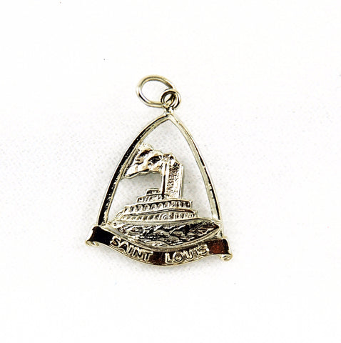 Vintage Sterling St. Louis Charm