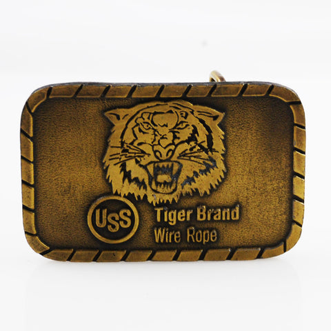 Tiger Brand Wire Rope Brass Belt Buckle