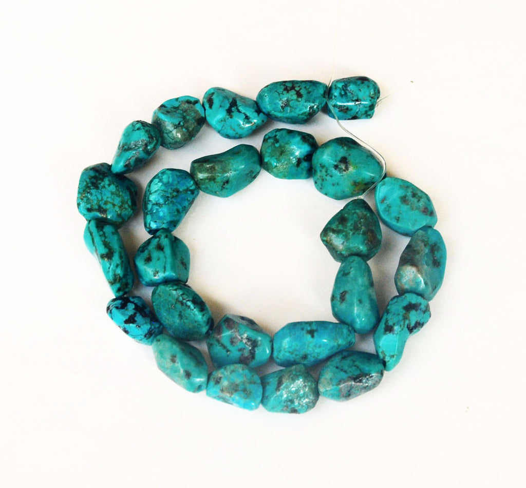 Old Stock Genuine Turquoise Nugget Beads