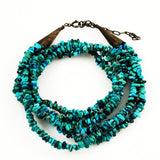 Turquoise & Sterling Necklace