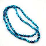 Turquoise Banded Onyx Beads 8mm