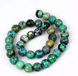 Natural Turquoise Round Beads 12mm
