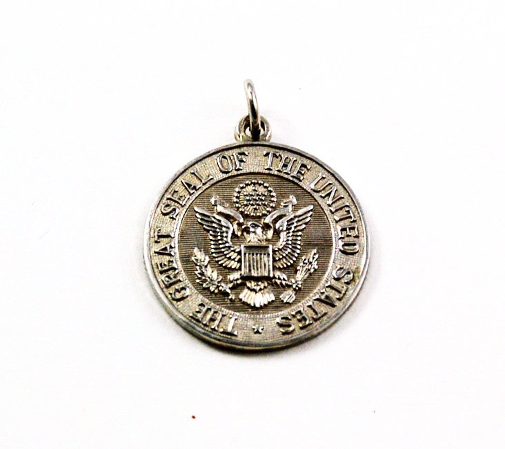Vintage United States' Seal Sterling Charm