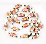 Venetian Wedding Cake Beads Necklace