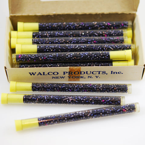 Walco Royal Blue Seed Beads In Tube Vintage