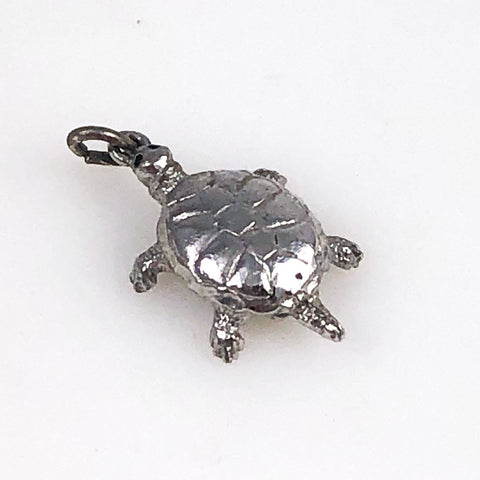 Wells Sterling Turtle Charm