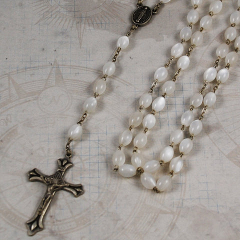 Italian Rosary Necklace