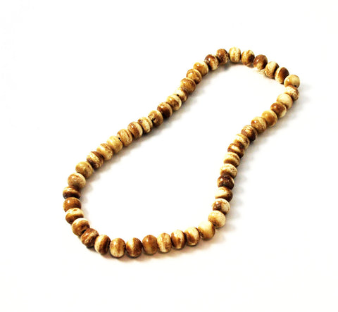 Carved Yak Bone Beads 10 x 12mm