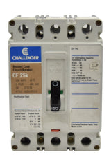 Challenger CF3030 Circuit Breakers