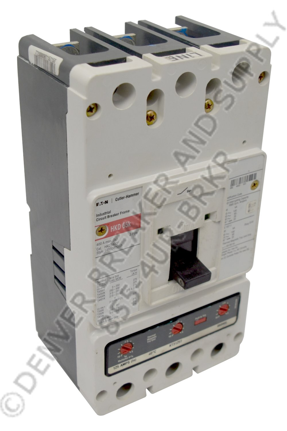 Cutler Hammer CHKD3125V Circuit Breakers