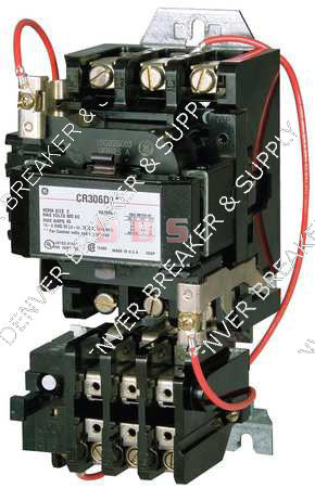 CR306A102  GENERAL ELECTRIC  Magnetic Motor Starter, NEMA, 120V, 3P, 9A