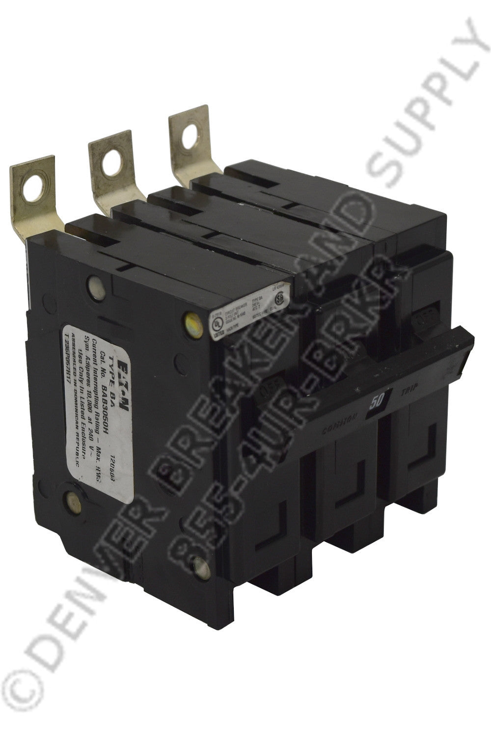 Cutler Hammer BAB3100H Circuit Breakers