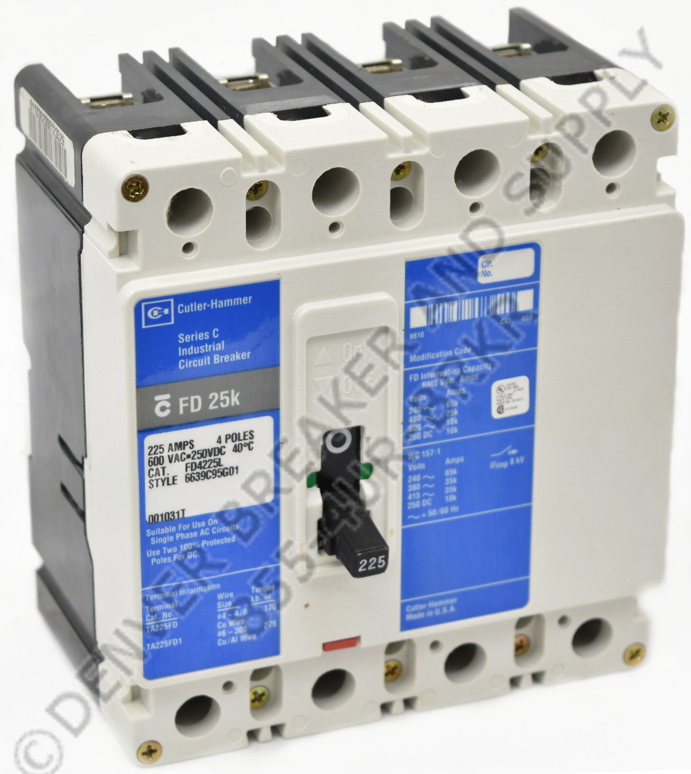 Cutler Hammer FD4015 Circuit Breakers