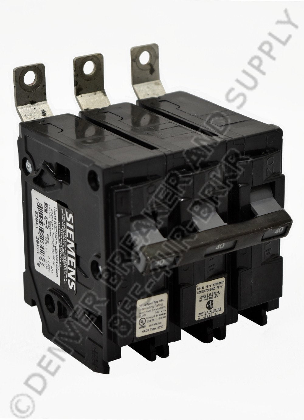 Siemens B390HH Circuit Breakers