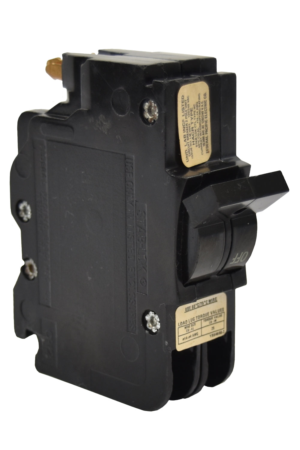 federal pacific nc0230 circuit breakers molded case denver breakerfederal pacific nc0230 circuit breaker