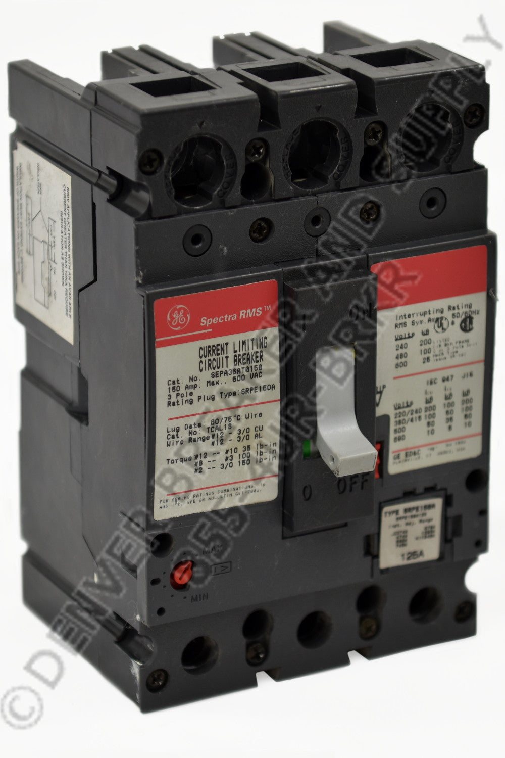 General Electric SEPA36AI0007 Circuit Breakers Molded Case | Denver ...