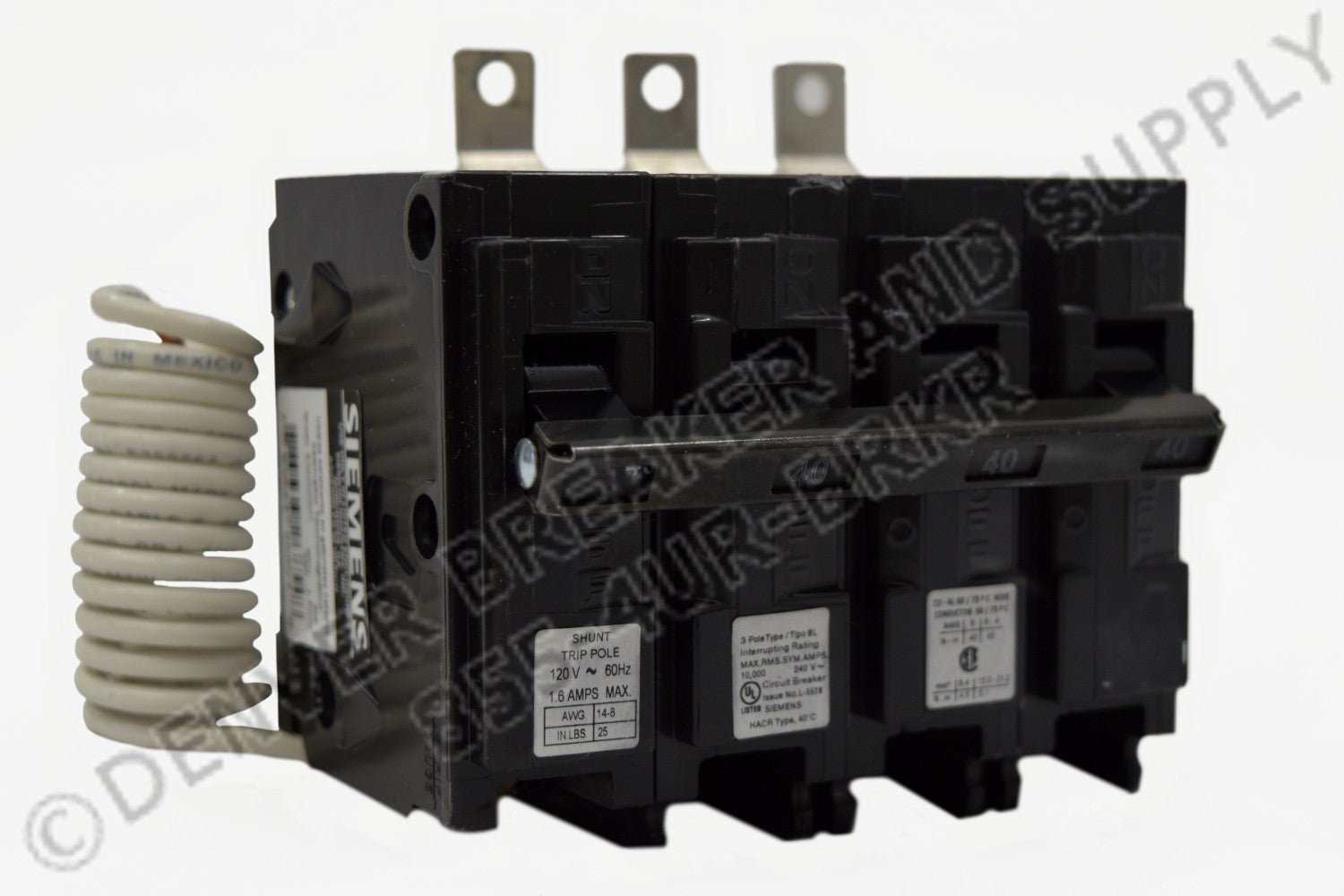 Siemens B39000S01 Circuit Breakers Molded Case