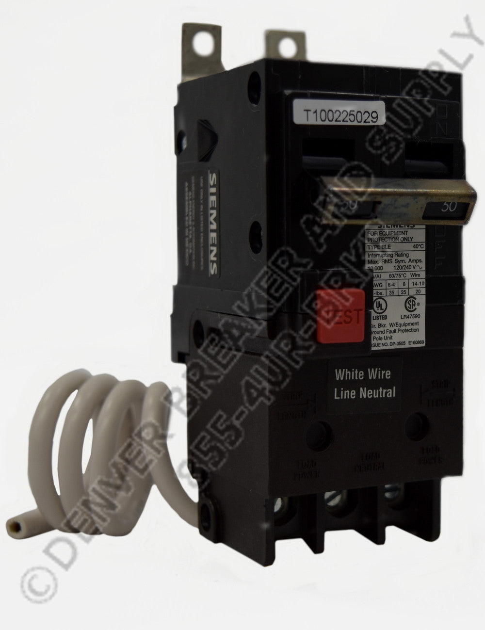 Siemens BE250H Circuit Breakers