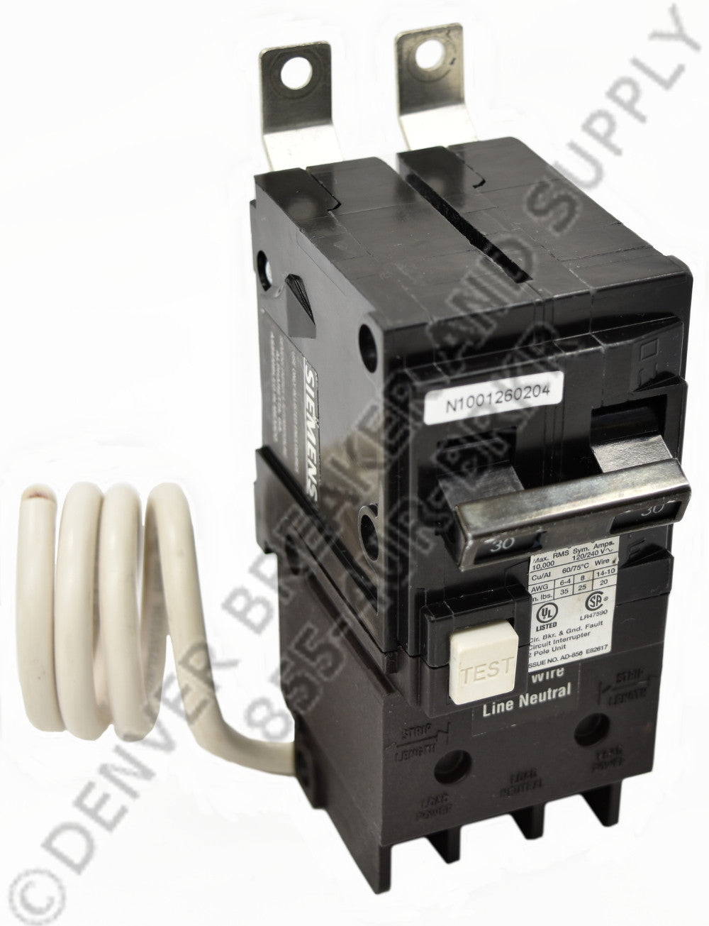 Siemens BF215 Circuit Breakers