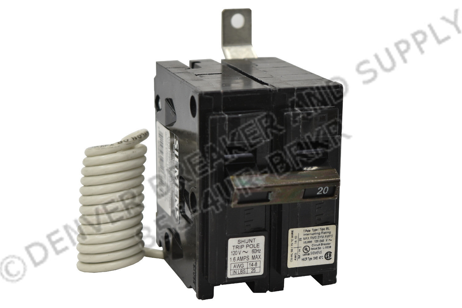 Siemens B17000S01 Circuit Breakers