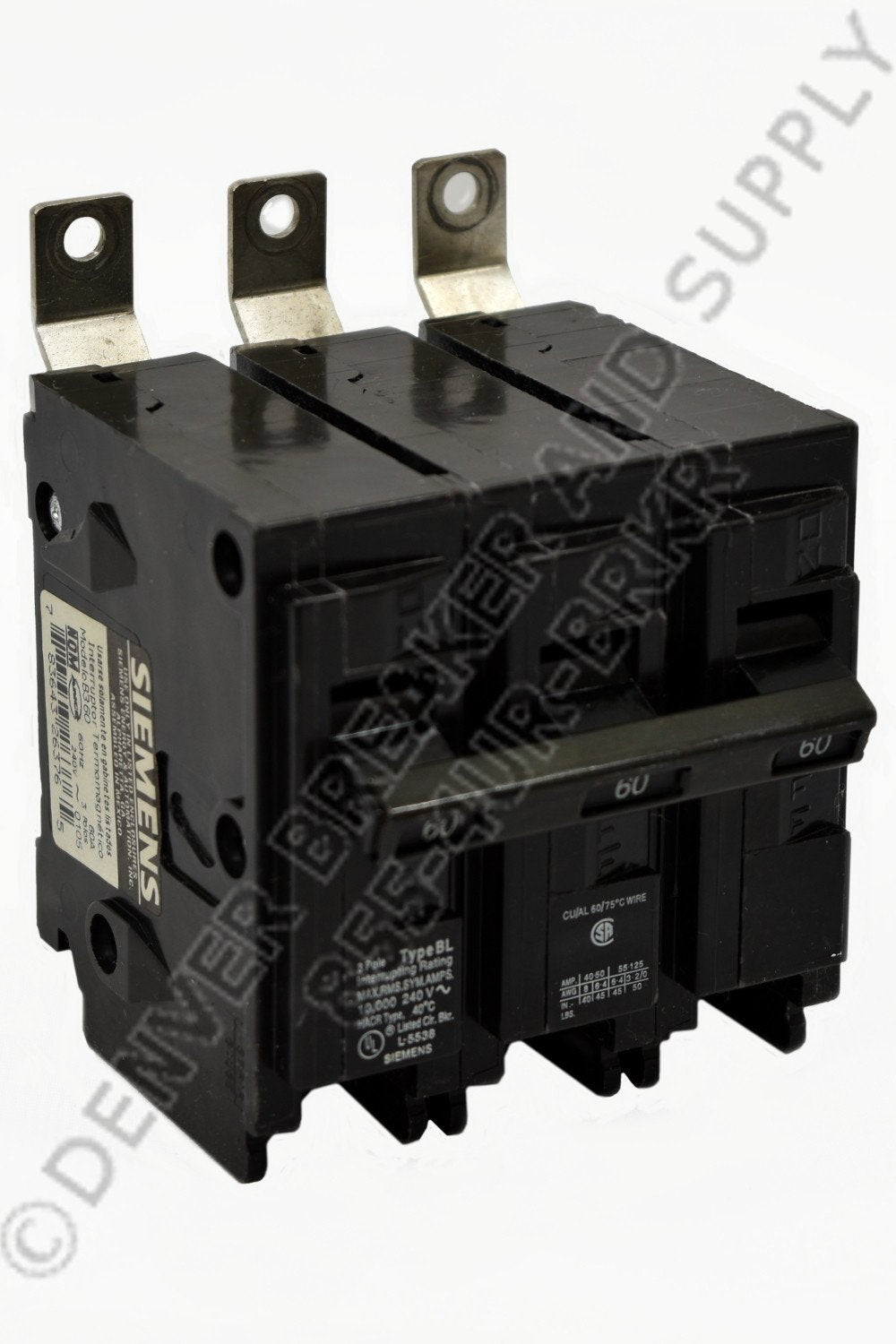Siemens B390H Circuit Breakers