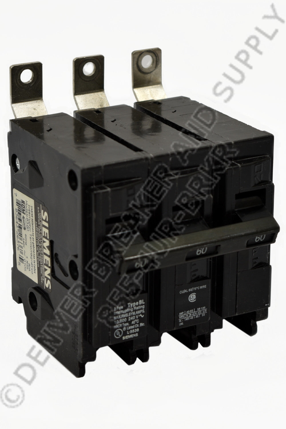 Siemens B345H Circuit Breakers