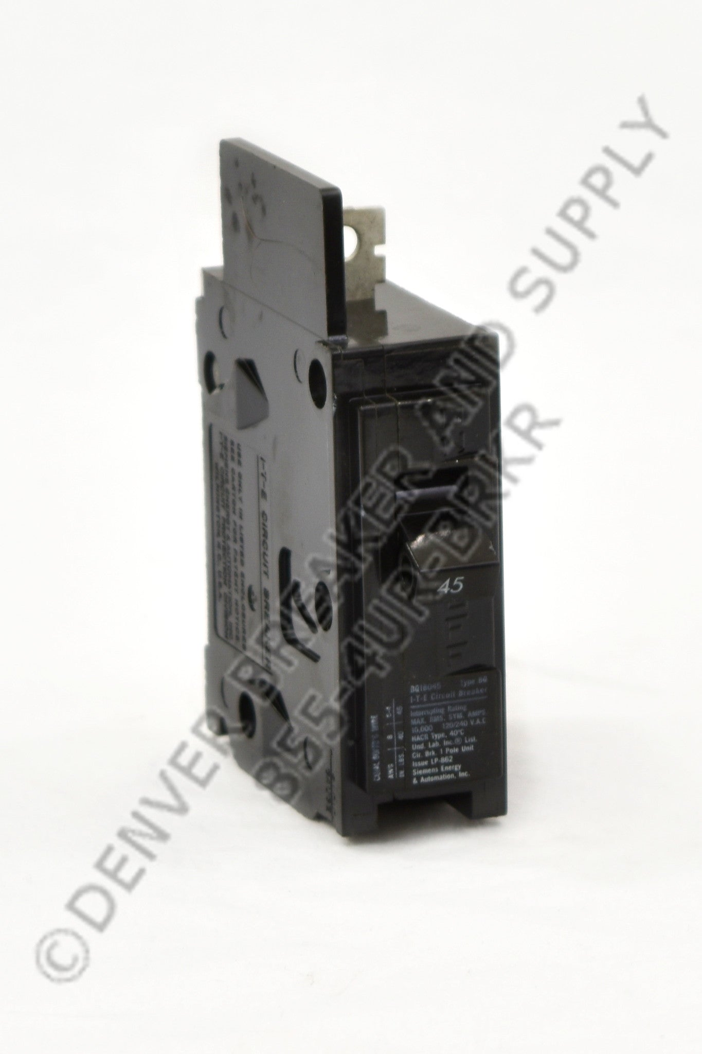 Siemens BQ1B030H Circuit Breakers