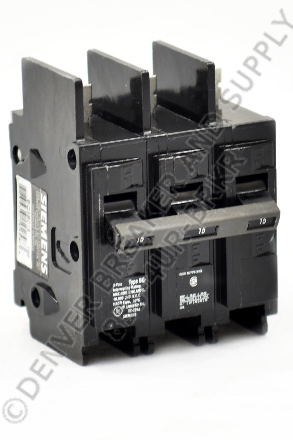 Siemens BQ3B015 Circuit Breakers