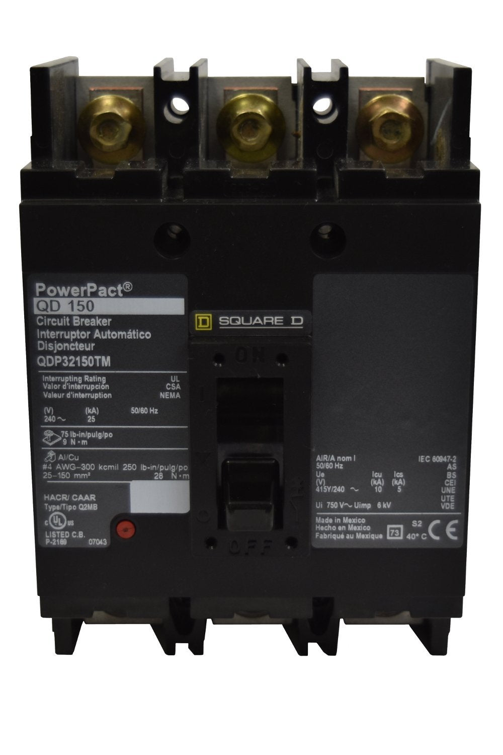 Square D QJP32250TM Circuit Breakers