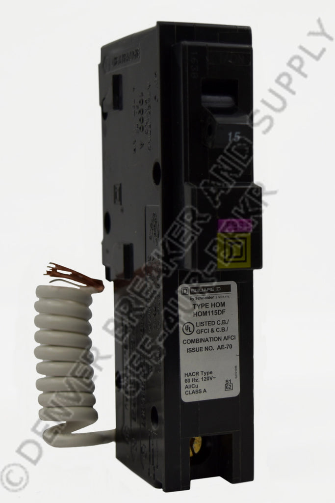 Square D HOM115DF Circuit Breaker