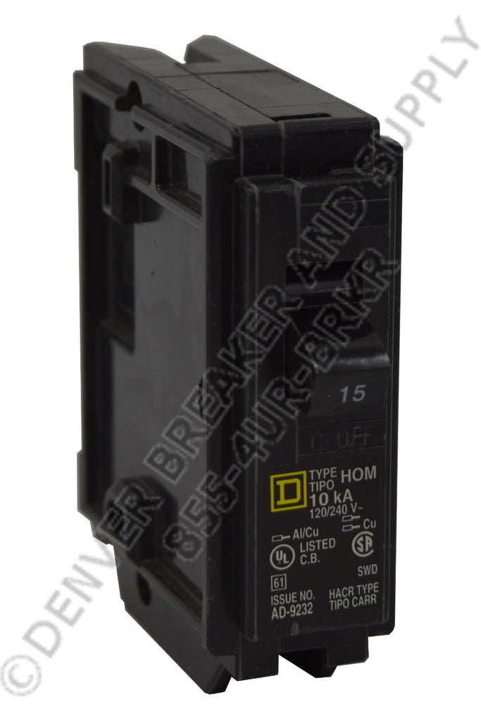 Square D HOM115 Circuit Breaker