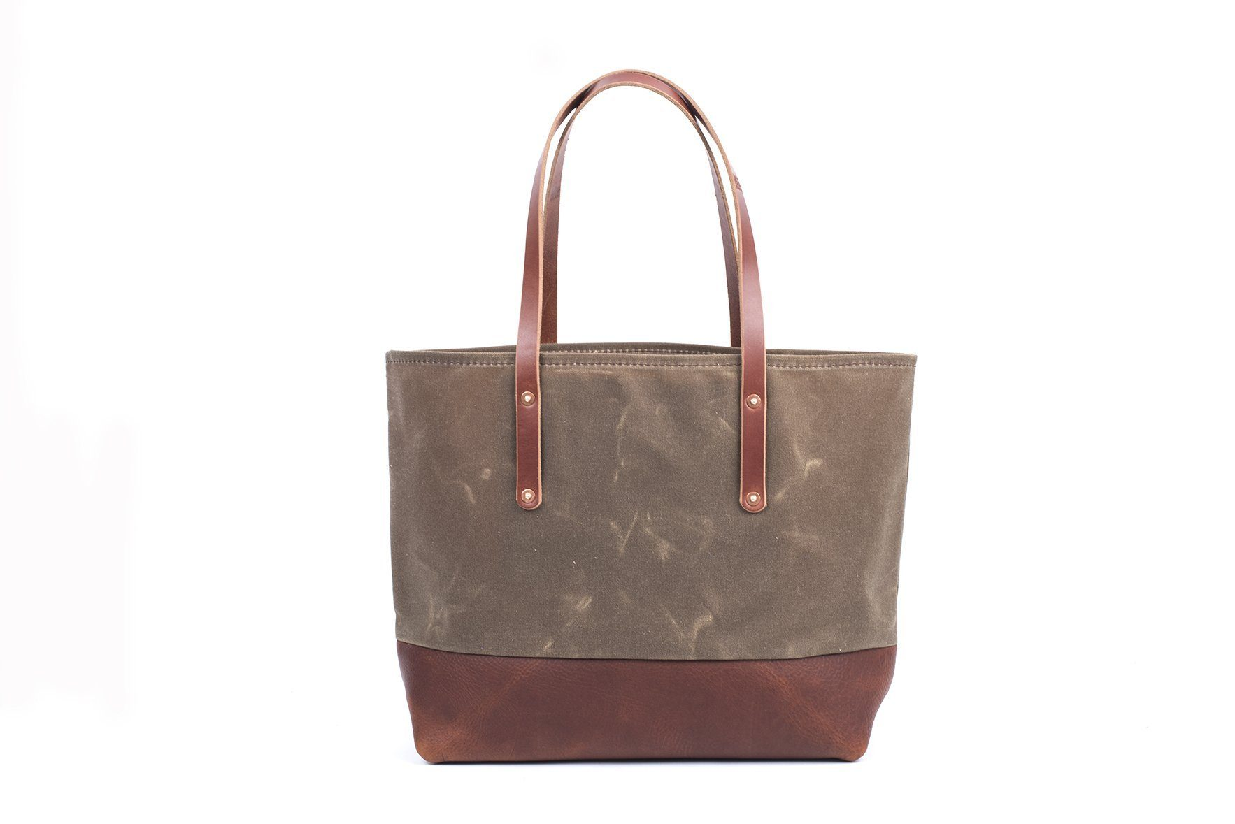 6fc15103c90 AVERY WAXED CANVAS TOTE BAG - LARGE