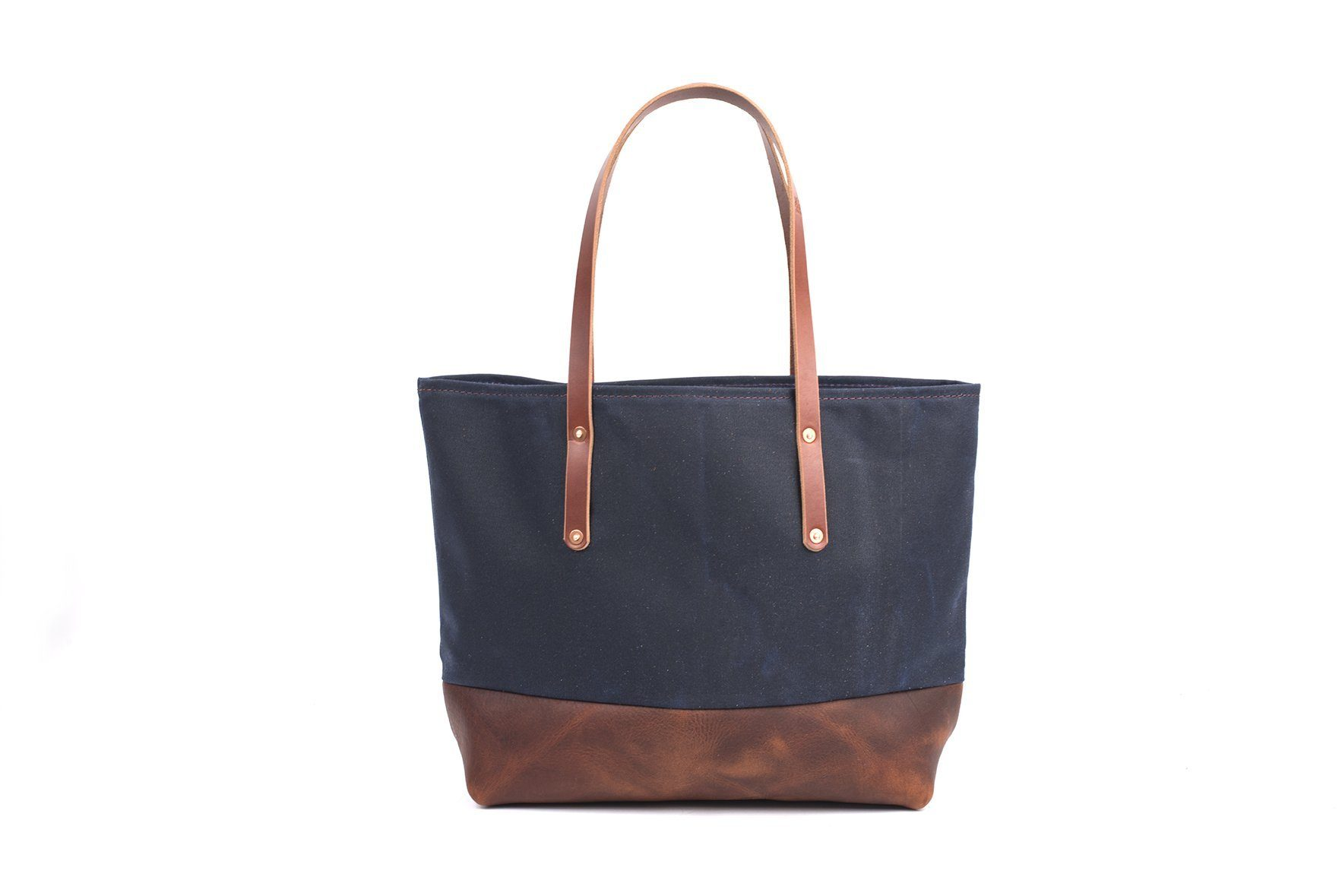 avery waxed canvas tote bag large