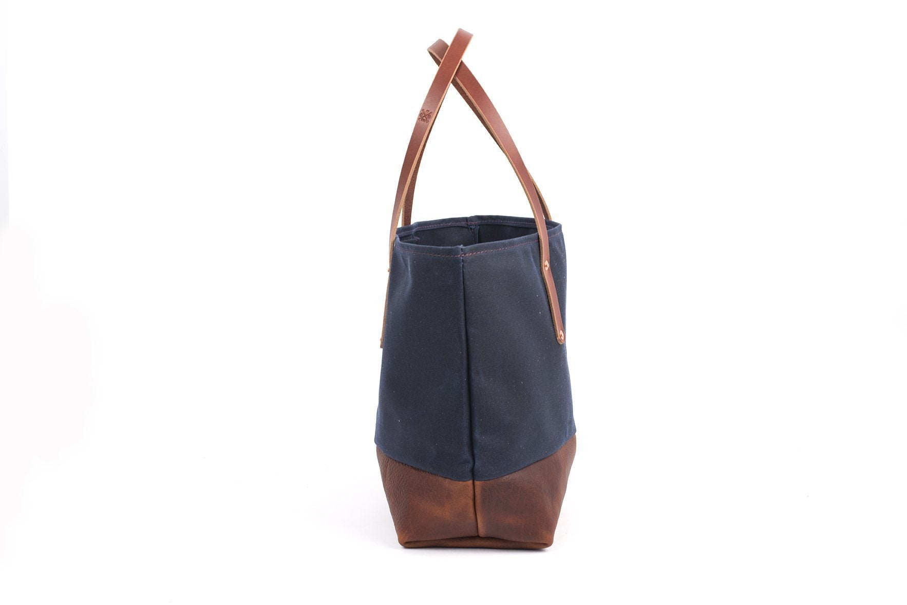 8d5161f377a7 AVERY WAXED CANVAS TOTE BAG - LARGE - Go Forth Goods