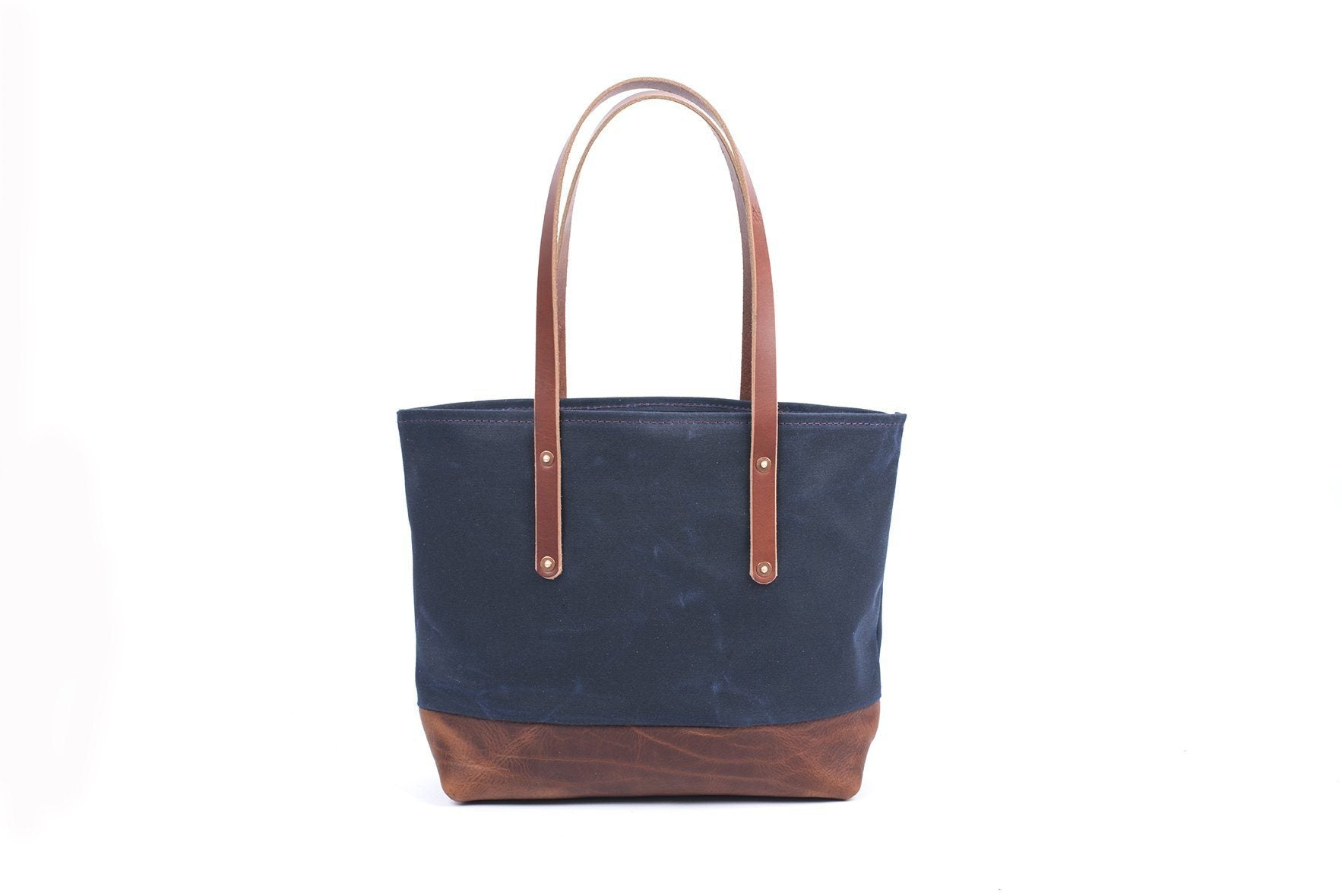 d14cb1898 AVERY WAXED CANVAS TOTE BAG - MEDIUM - Go Forth Goods