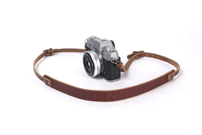 EXPLORER LEATHER CAMERA STRAP