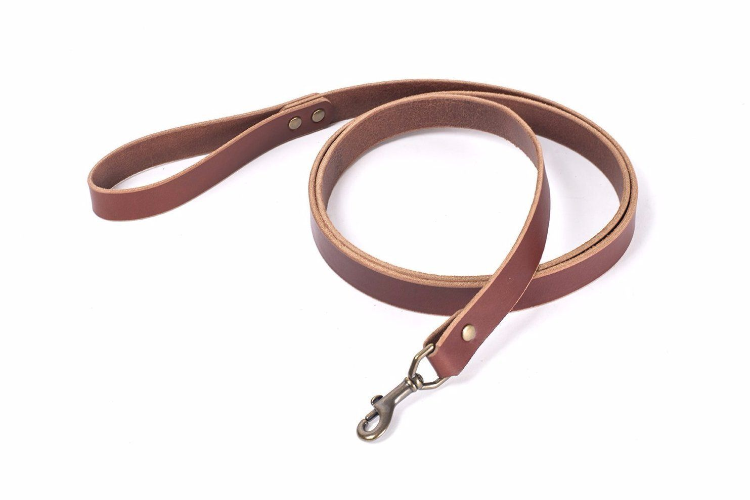 CHARLIE LEATHER DOG LEASH