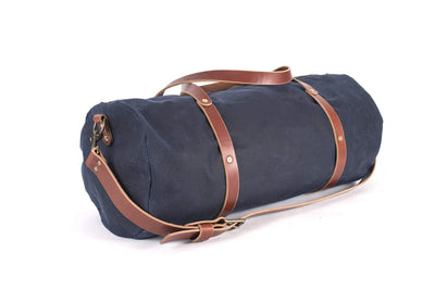 WILLIAM WAXED CANVAS DUFFLE BAG