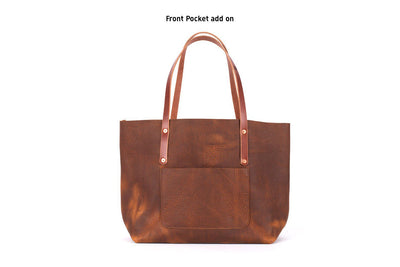 AVERY LEATHER TOTE BAG - LARGE