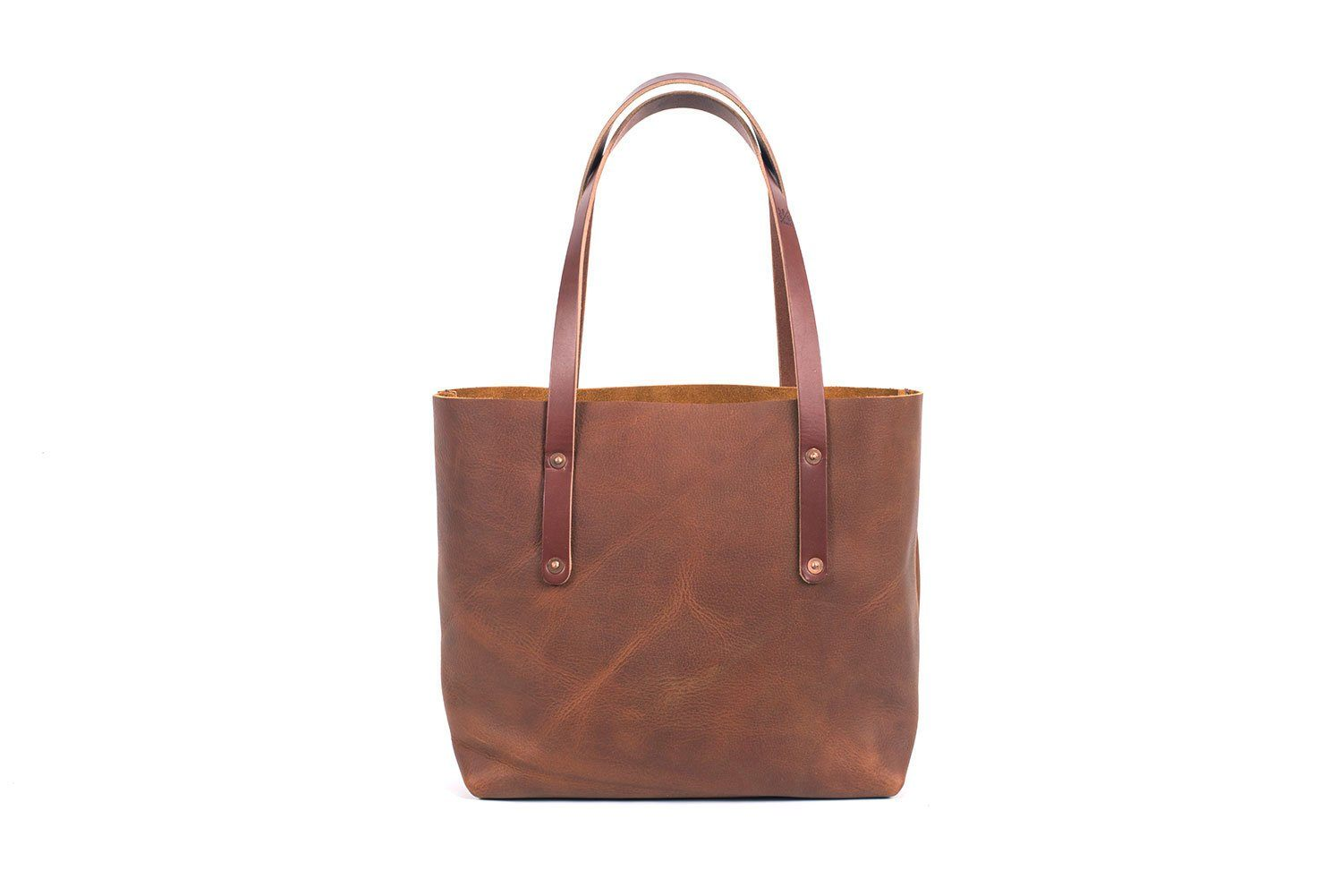 AVERY LEATHER TOTE BAG - MEDIUM