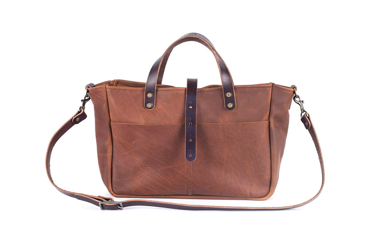 BUCHANAN LEATHER TOTE BAG