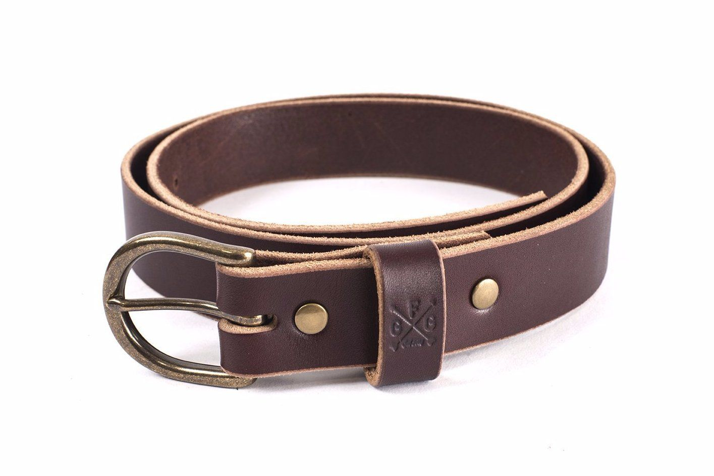 FLETCHER HANDMADE LEATHER BELT