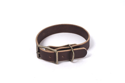 CHARLIE LEATHER DOG COLLAR
