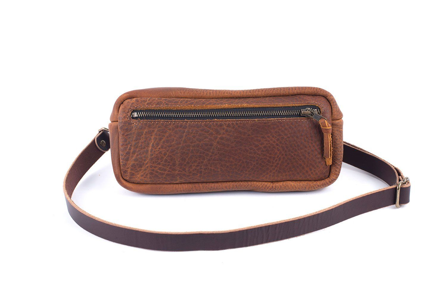 LEATHER FANNY PACK / LEATHER WAIST BAG