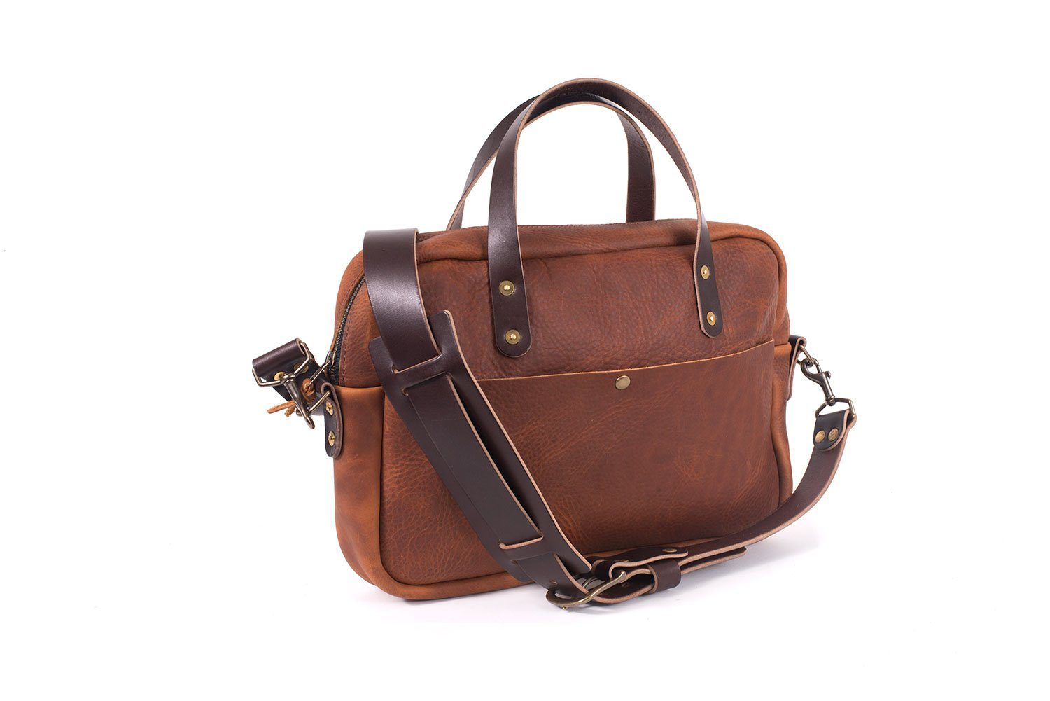 MARTIN THIN LEATHER BRIEFCASE