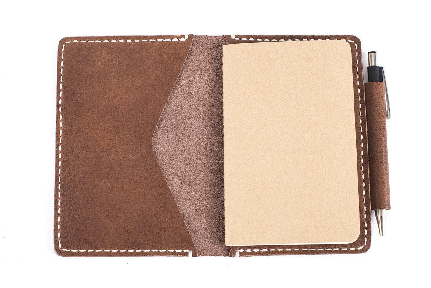 LEATHER NOTEBOOK COVER - 3.5 X 5.5 FIELDNOTES